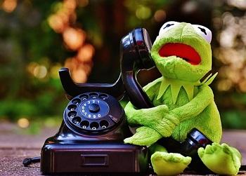 かえる電話